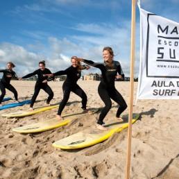 Aulas de Surf, Malibu - Escola de Surf, Gaia, Porto